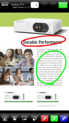 Panasonic Wireless Projector for iOS