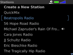 Pandora Radio (BlackBerry)
