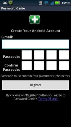 Password Genie for Android