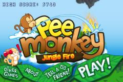 Pee Monkey Jungle Fire