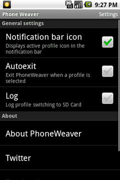 PhoneWeaver (Android)