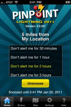 PinPoint Lightning 2011
