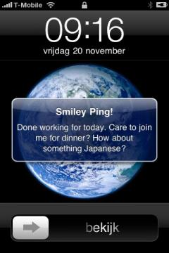 PingS! (with smileys) Lite