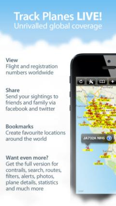 Plane Finder Free for iPhone