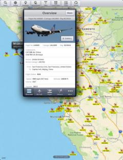 Plane Finder HD for iPad