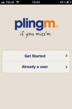 Plingm for iPhone