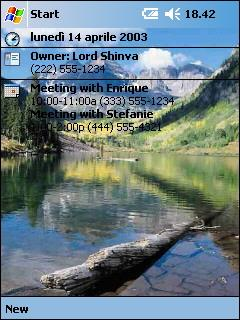 PocketPC Nature Theme