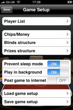 Poker Buddy (iPhone)