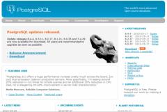 PostgreSQL Database - Firefox Addon