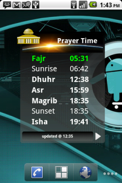 Prayer Time (Adhan)