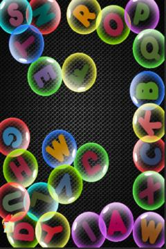 PreSchool Letter Bubbles
