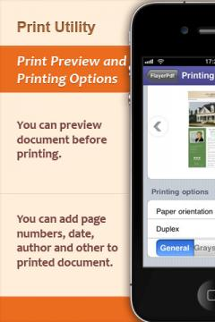 Print Utility for iPhone