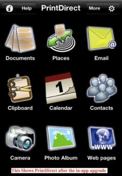 PrintDirect for iPhone/iPod Touch