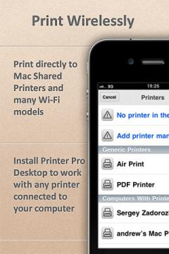 Printer Pro for iPhone
