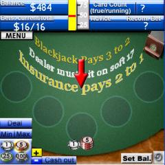 Pro Blackjack (Palm OS)