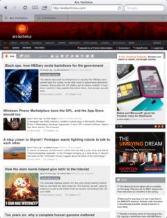 Push Browser for iPad