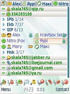 друзьями знакомыми скачать qip symbian