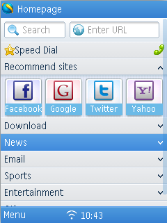 QQ Browser for Symbian