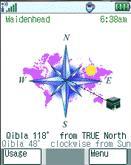 Qibla Compass Professional (Palm OS)