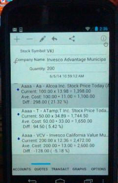 Quick Stock Quotes for Android