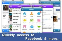 Quickly for Facebook with video chat Pro