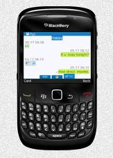 Qute Messenger for BlackBerry
