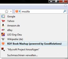 RDF Book Mashup - Firefox Addon