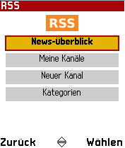 RSS mobile Reader