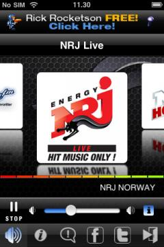 Radio NRJ Norway (iPhone)