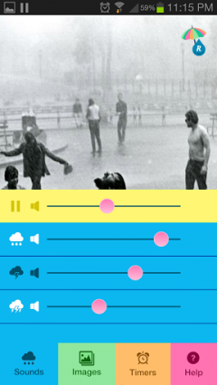 Raining.fm for Android