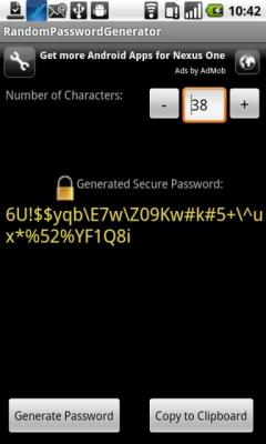 Random Password Generator for Android