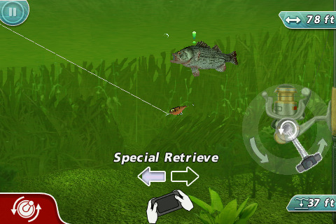 iPad Rapala Pro Bass Fishing