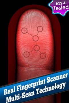 Real Fingerprint Scanner System