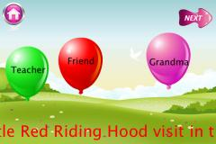 Red Riding Hood - 3D Parallax