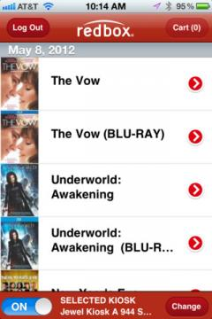 Redbox for iPhone