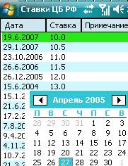 Ставка рефинансирования ЦБ РФ Mobile