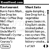 Roadfood.com Memorable Eateries