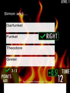 Rock Quiz 2 for iPad