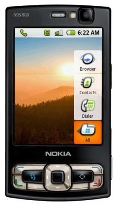 Google Android Simulator for Nokia & Sony Ericsson Phones