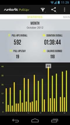 Runtastic Pull-Ups Pro for Android