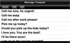 SMS Landscape Big Keyboard