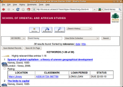 SOAS Library Catalogue Search - Firefox Addon