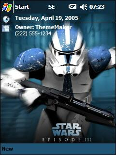 SW E3 3 QVGA Theme for Pocket PC