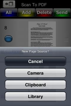 Scan To PDF for iPhone/iPad