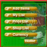 Shopping List for Palm OS 5