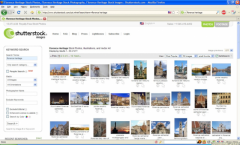Shutterstock search - Firefox Addon
