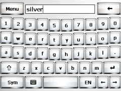 Silver Skin for SPB Keyboard
