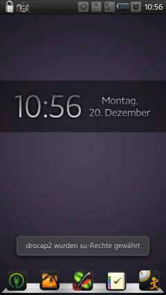 Simple One With Date 2 Skin for mClock