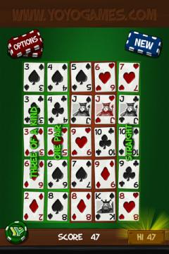 Simply Poker Squares Free for iPhone/iPad