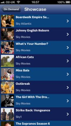 Sky Go for iPhone/iPad